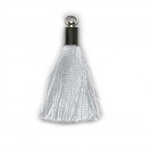 pompon embout métal : blanc DMC 5200