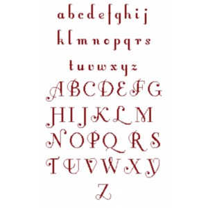 """Fiche Broderie Alphabet """"Leroi"""" en PDF à télécharger et à broder au point de croix"""