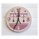 """Fiche cartonnage  """"Horloge de Cuisine"""" en PDF à télécharger"""