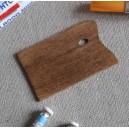 Palette de peinture miniature, rectangulaire en bois, à l'unité