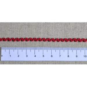 mini croquet rouge - Largeur 4 mm