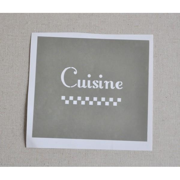 Pochoir cuisine id ecr ation for Pochoir cuisine
