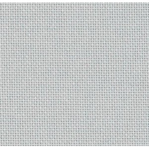 "Etamine 10 fils (Lugana) ""Grise"" Zweigart 35x50cm"