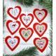 Coeurs de Noël, Décos de Sapin