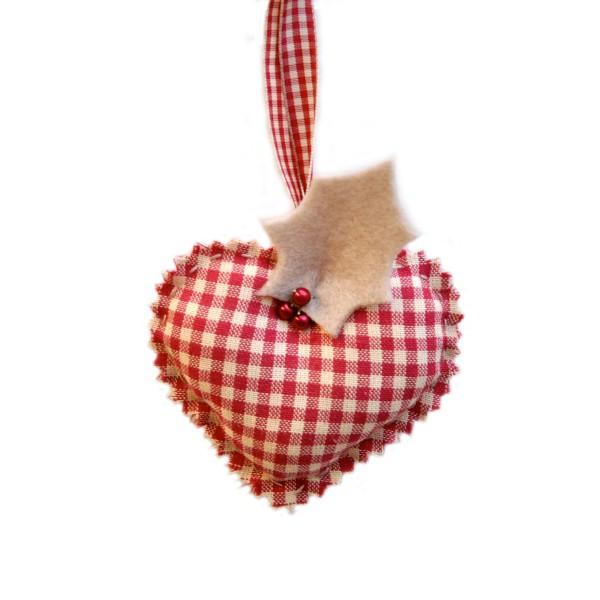 Coeur de Noel, déco de sapin  IdéeCréation