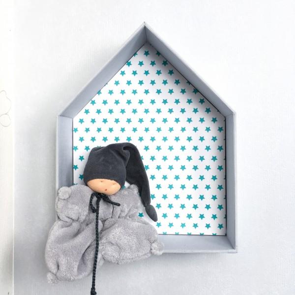 maison en tissu pour enfant faire un mobile en tissu les. Black Bedroom Furniture Sets. Home Design Ideas