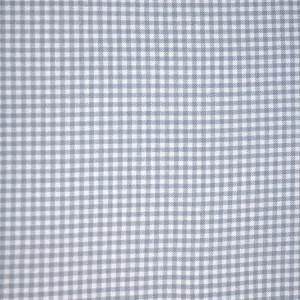 100% coton : Coupon Gris vichy mini