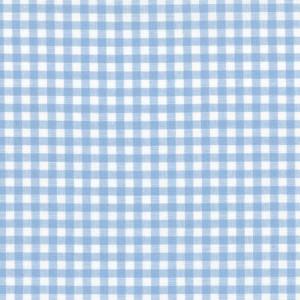 100% coton : Coupon Bleu vichy