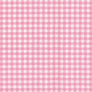 100% coton : Coupon Rose vichy