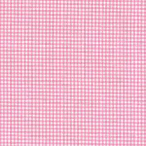 100% coton : Coupon Rose vichy mini